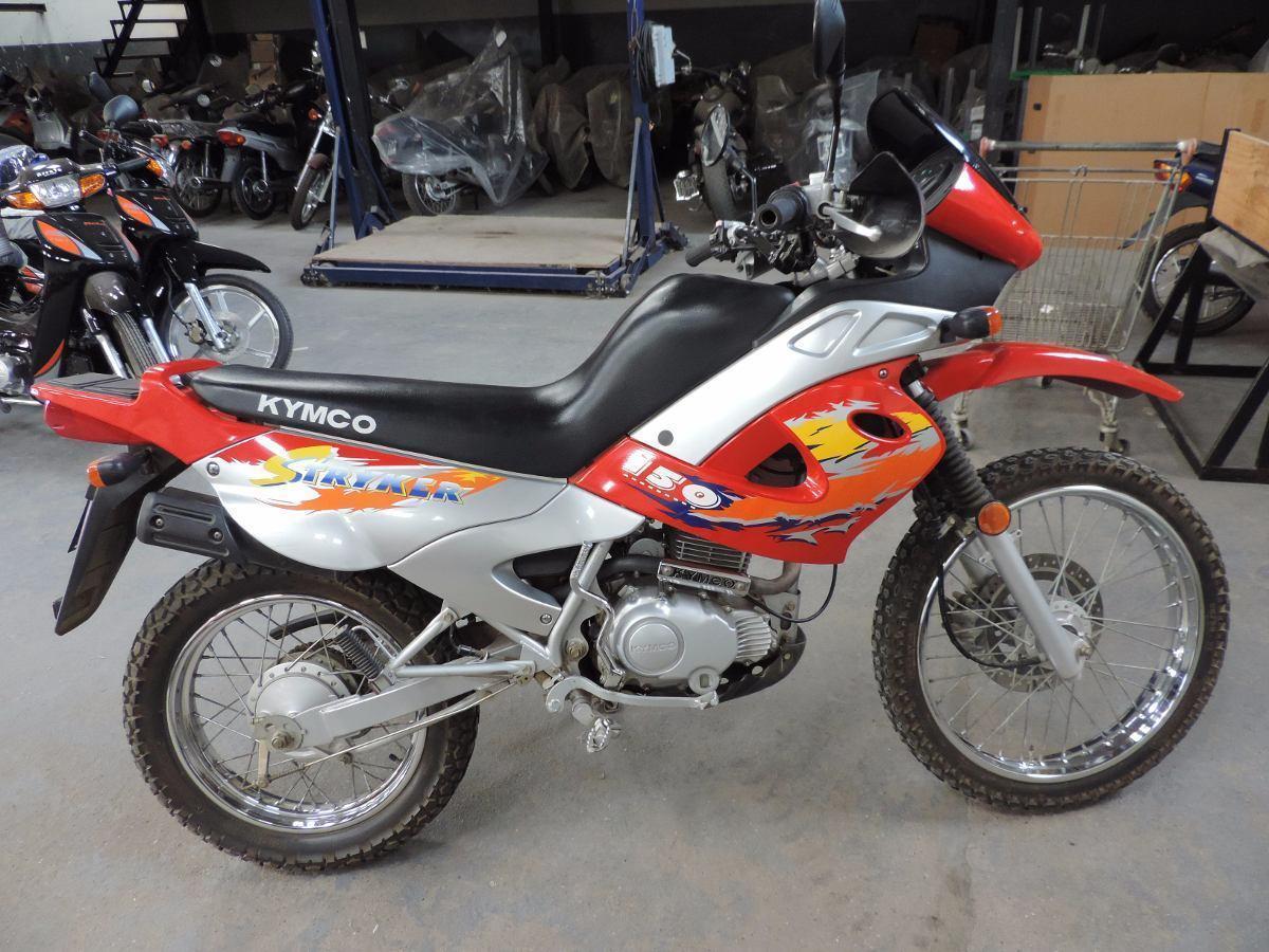 Moto Kymco Stryker 150cc Cross Trial Usada Excelente Estado