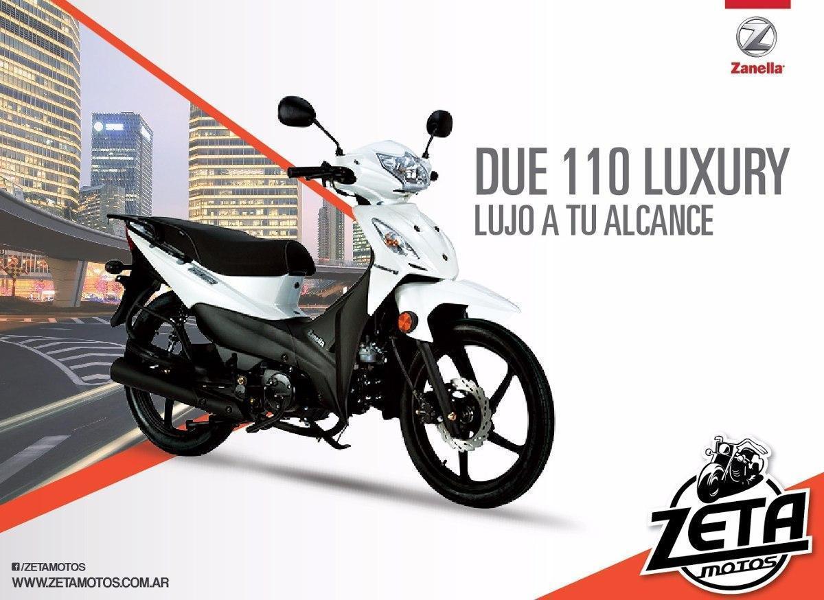 Zanella Due 110 Luxury 0km Modelo 2017 Zeta Motos