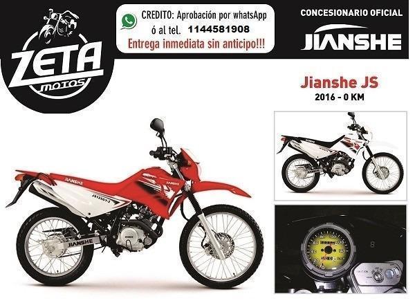 Jianshe Js 125 0km 2017 Zeta Motos