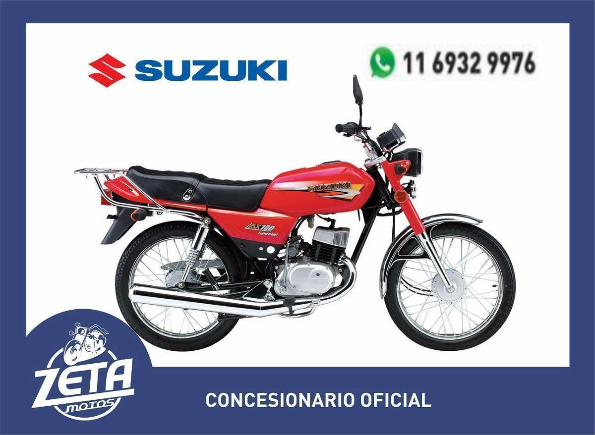 Suzuki Ax 100 0km 2017 Zeta Motos