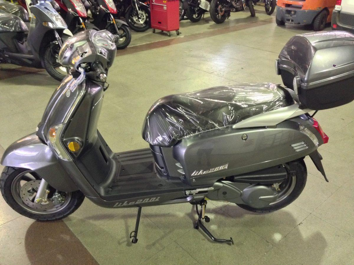 Scooter Kymco Like 200i Inyección 2016 0km Palermo Bikes