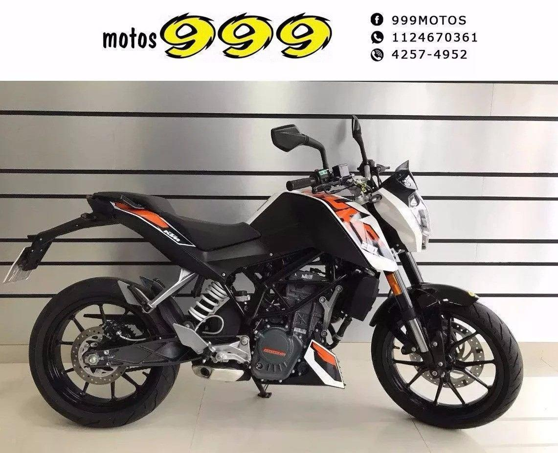 Ktm Duke 200 Usada 2016 Impecable / Financiamos - Permutas