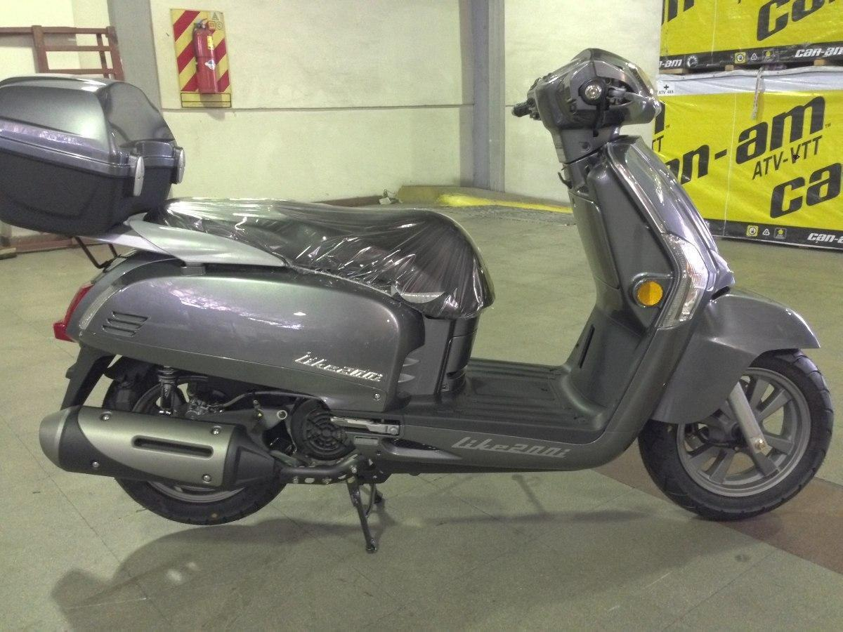 Kymco Like 200i Scooter Inyección 2016 0km Palermo Bikes