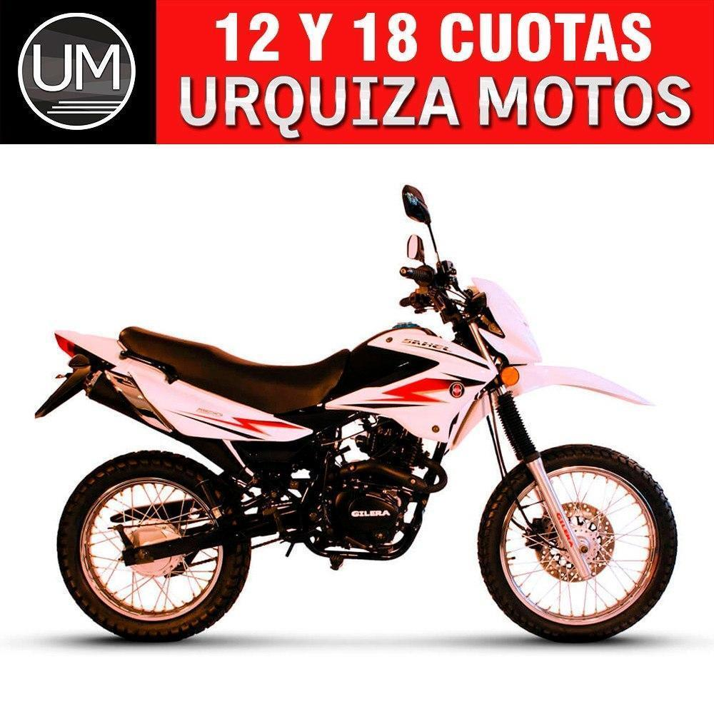 Moto Gilera Sahel 150 Enduro 18 Cuotas 0km Urquiza Motos