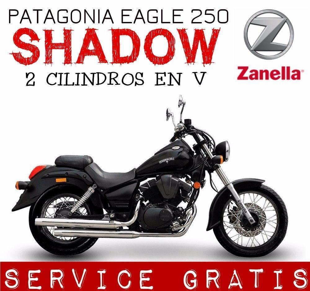 Moto Zanella Patagonian Eagle 250 Shadow 0km 2017