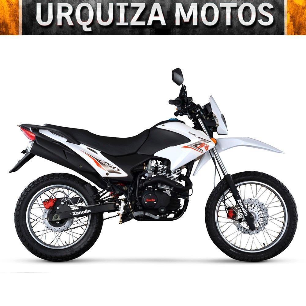 Moto Enduro Zanella Zr 250 Lt Cross Zr150 0km Urquiza Motos