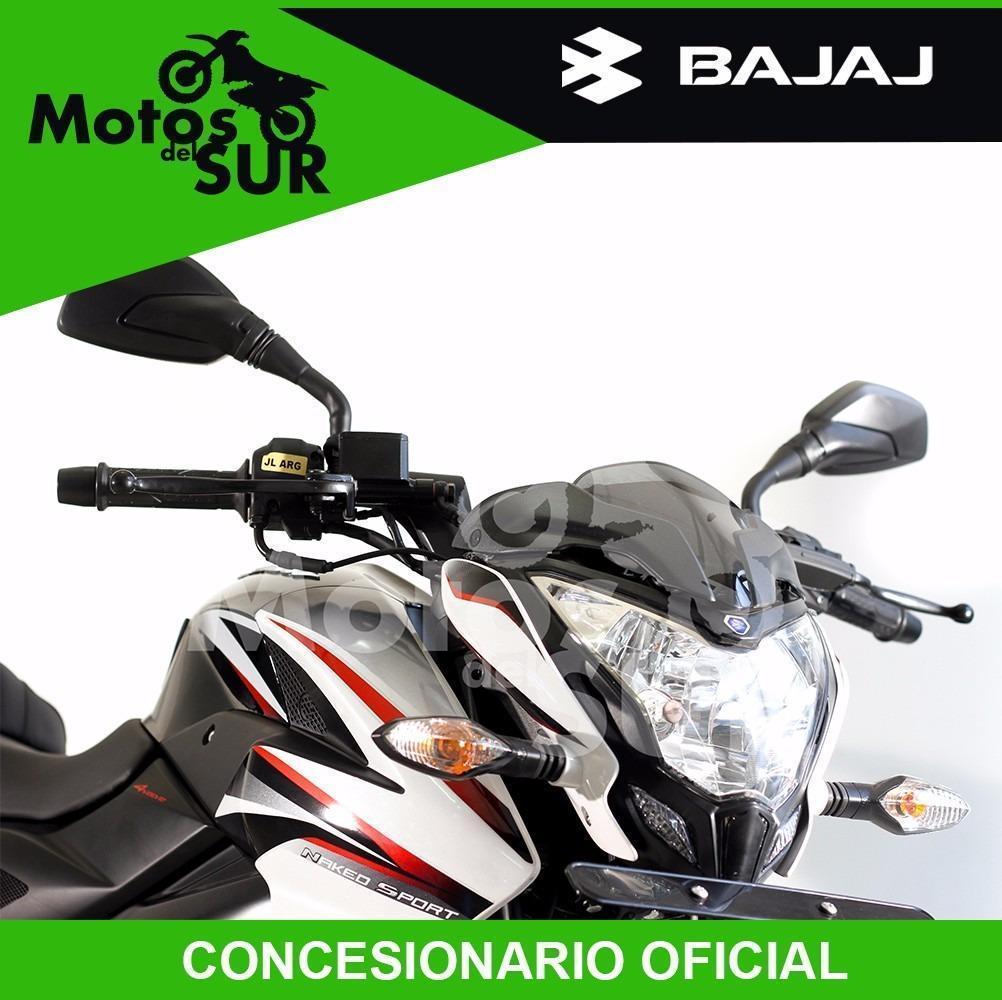 Bajaj Rouser 200 Ns 0 Km 2016 Financiacion Motos Del Sur