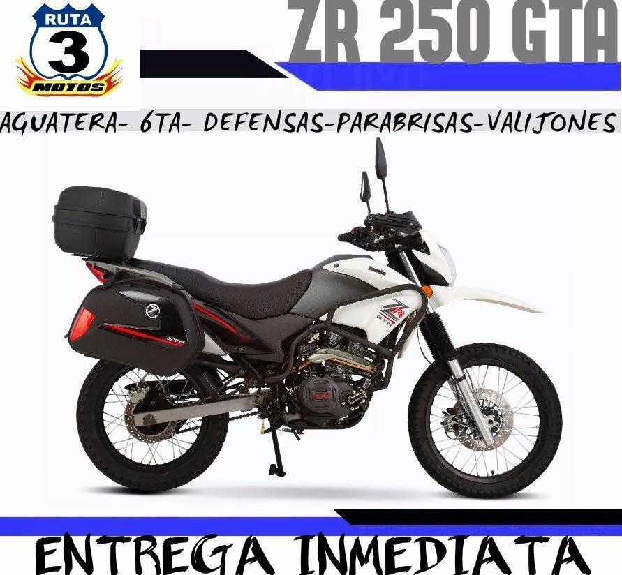 Moto Zanella Zr 250 Gta 2017 0km