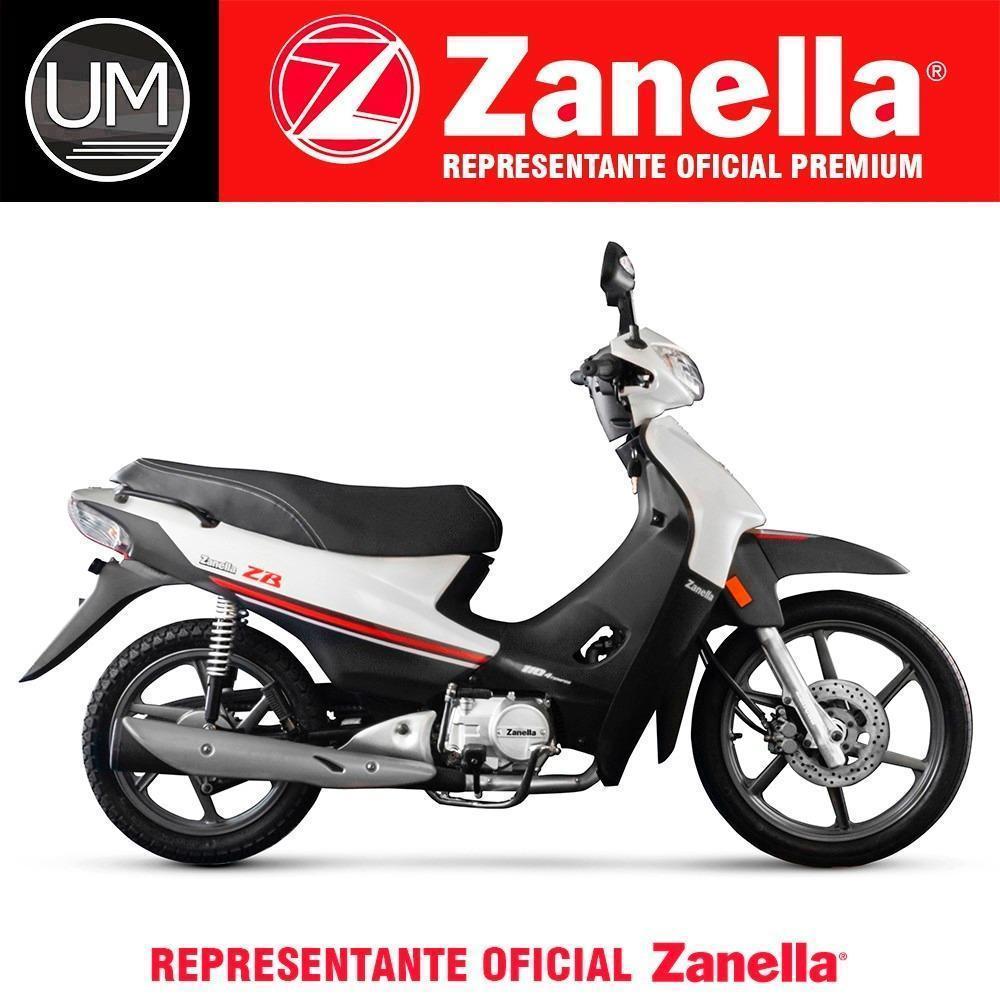 Moto Zanella Zb 110 Z1 Full 18 Cuotas 0km Urquiza Motos