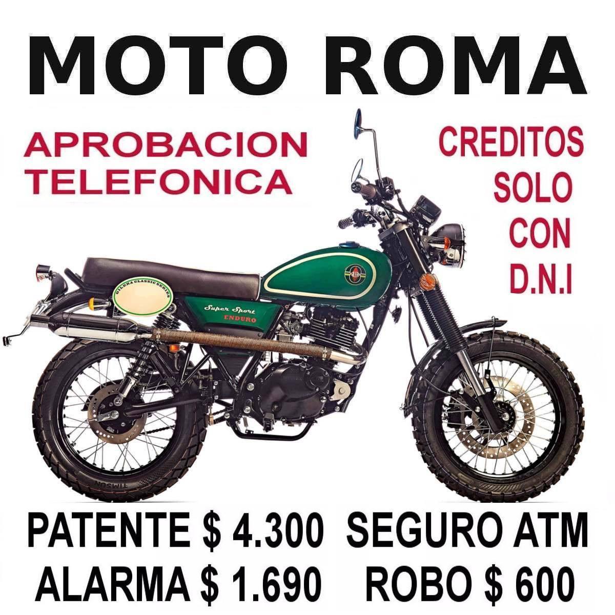 Gilera Cafe Racer Enduro Patente $4.300