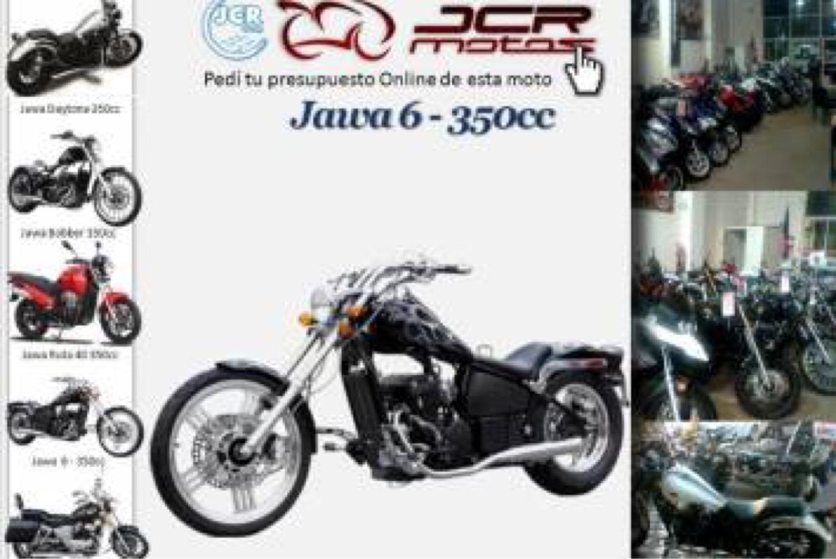 Jawa Spyder 350 Negra