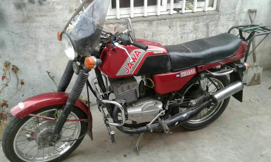Jawa 350 Restaurada