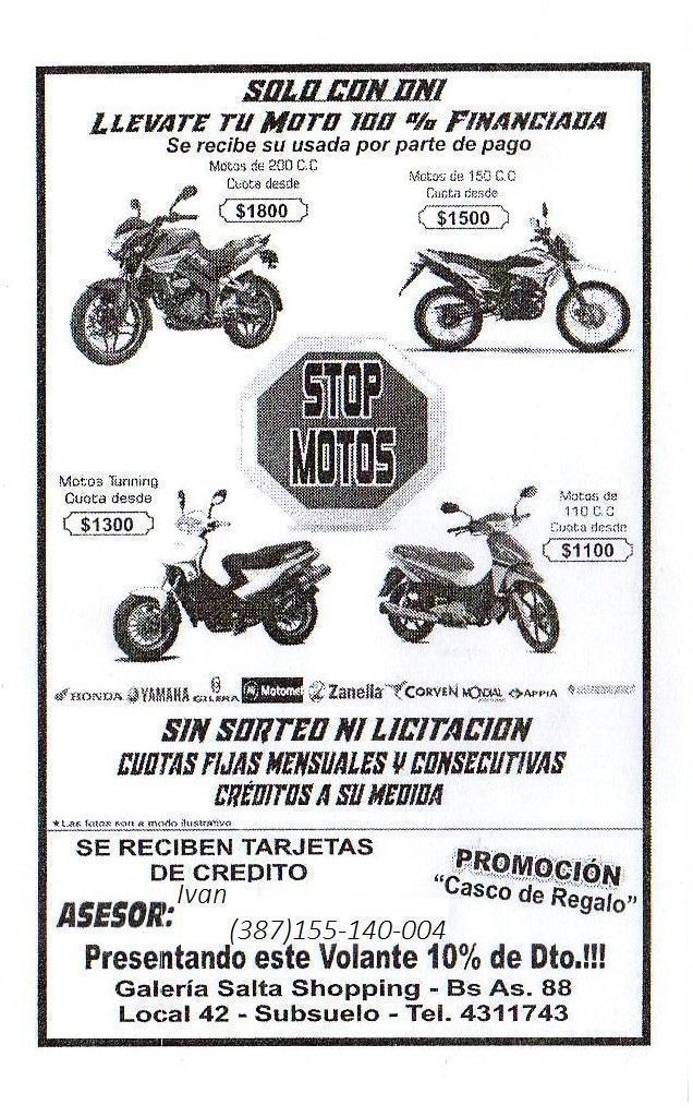 Stop Motos