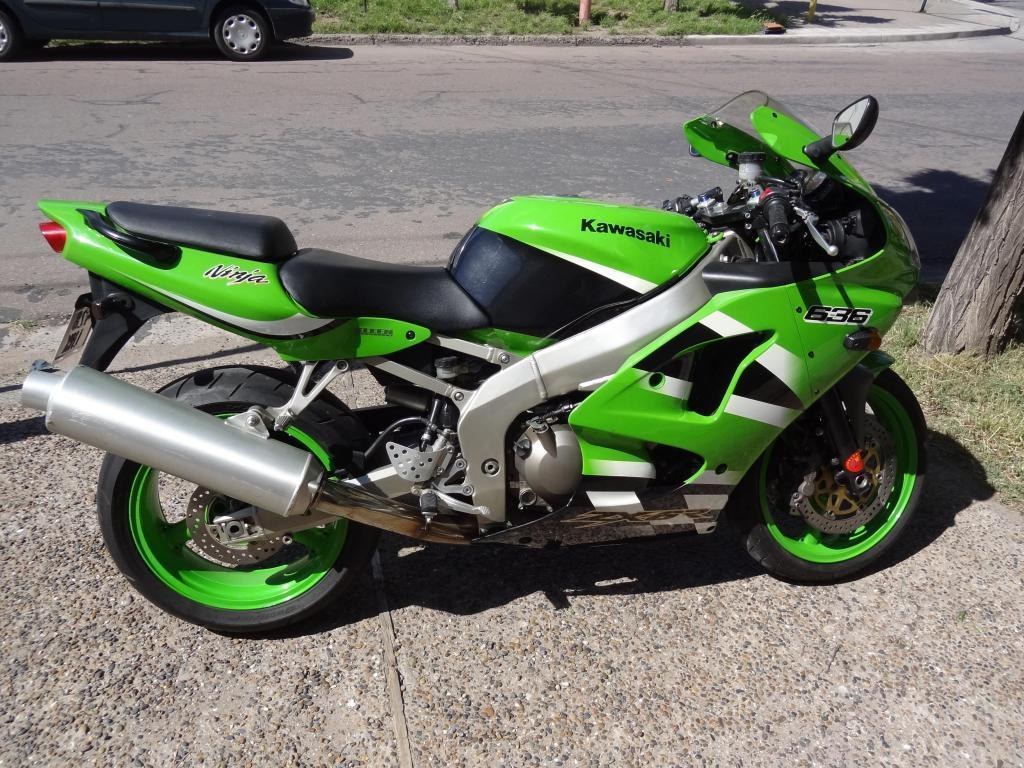 KAWASAKI ZX6R 636 Impecable y original