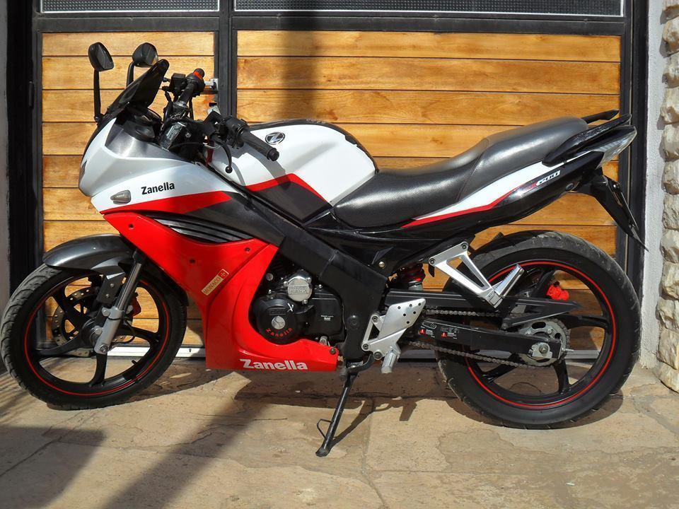 Moto Zanella Monaco 200 cc