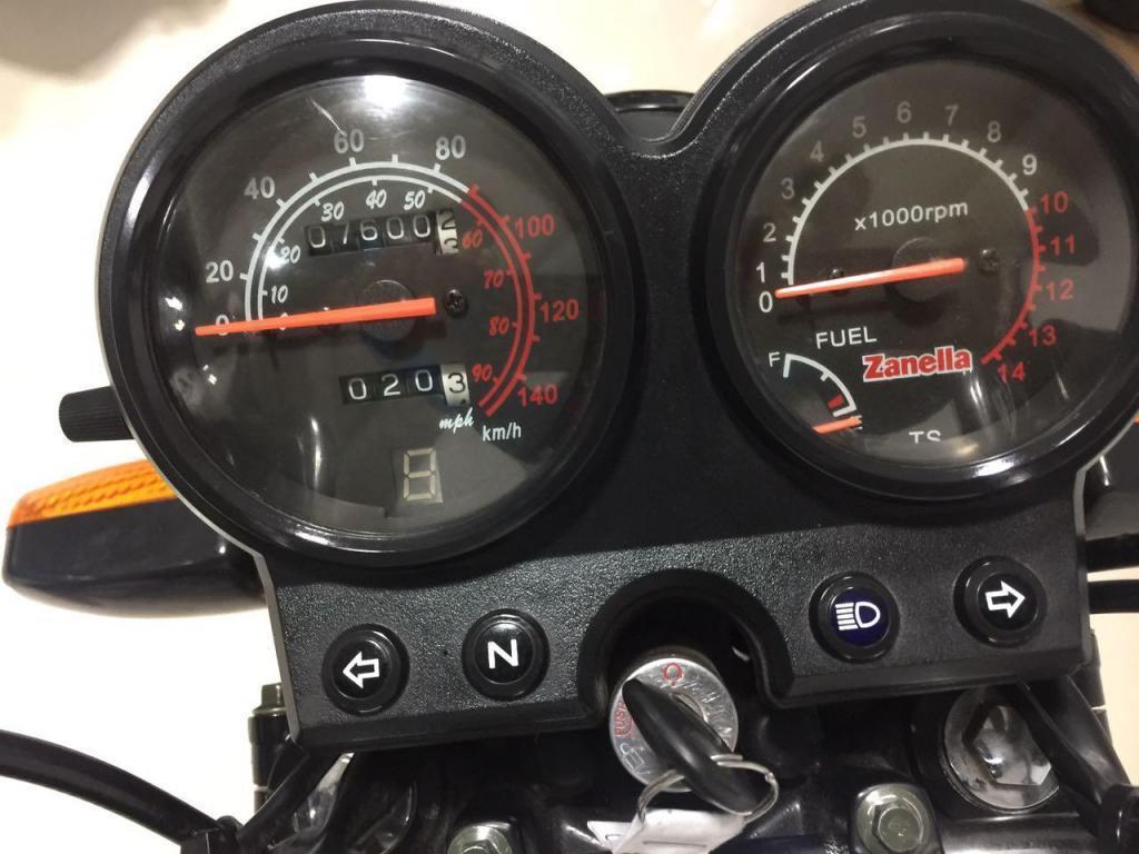 Zanella Rx 150 150cc Usada 2016 Impecable