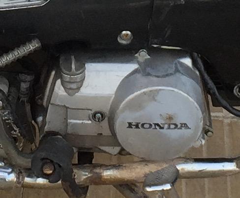 Motor Zanella Due Con Mecánica Completa De Honda Wave con Papeles