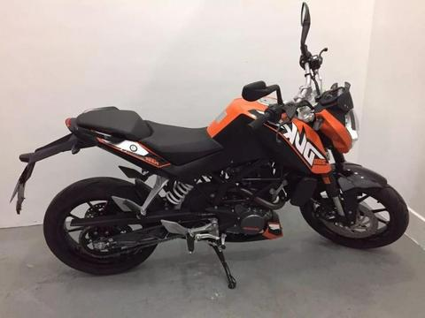 Ktm Duke 200 2016 2400km 999 Motos Impecable Financio