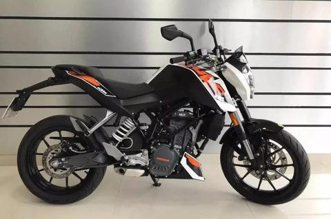 Ktm Duke 200 2016 Nacked Usada Impecable 500km