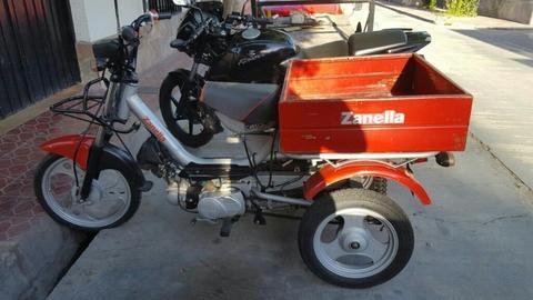 Tricargo Zanella 70cc 4 Tiempo, Financio