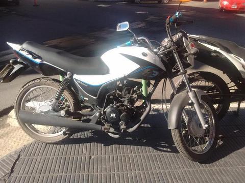 MOTOMEL S3 DE CALLE 150 Cc. VENDO, PERMUTO O FINANCIO