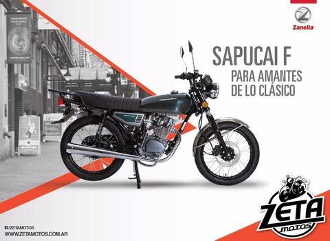 Zanella Sapucai 150 Full 0km Modelo 2017 Zeta Motos