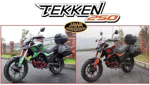 Moto Jawa Tekken 250 Touring 0km 2017 Equipada Hot Sale 14/7
