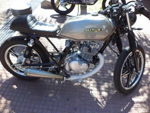 Cafe Racer Suzuki Gn 125. En Rh- Motos