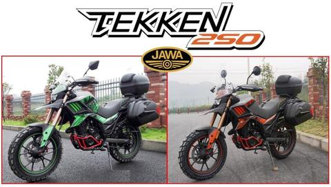 Moto Jawa Tekken 250 Touring 0km 2017 Equipada Hot Sale