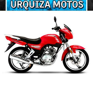 Moto Jianshe Js 125 6b V6 Street 0km Urquiza Motos