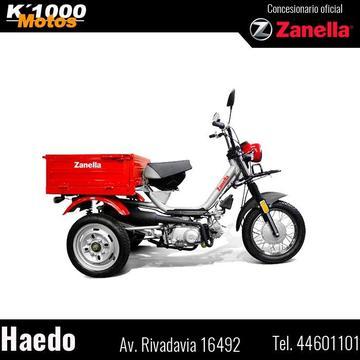 Zanella Tricargo 110 Ciclomotor Reparto/ Carga- Entreg Inmed