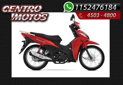 Honda New Wave 110 S 100% Financiada 18 X $1633 Centro Motos
