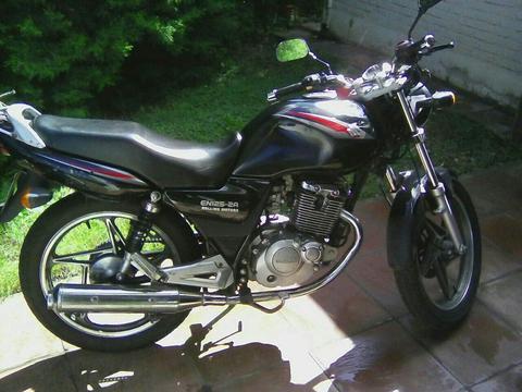 Moto Suzuki En 125 Unico Dueño No Ybr No Titan Cg 2014