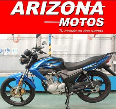 Moto Jianshe Js 125 6by 0km 2017 Arizona Motos