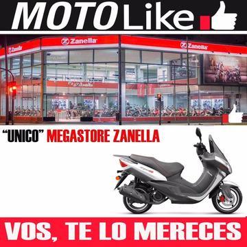 Moto Zanella Styler Cruiser 150 Scooter Automatico Psx Elite