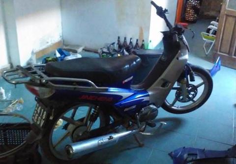 jincheng moto 110 todos los papeles