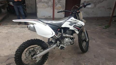 VENDO MOTO ENDURO MARCA KELLER MODELO MX 260. 0 KM!!