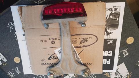 Luz Y Porta Patente Honda Tornado