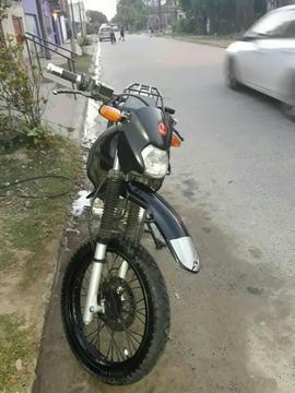 Moto Cros Honda 125