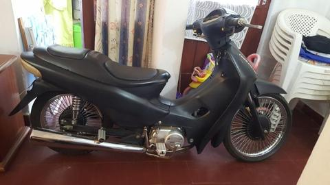 Moto 110 Guerrero Tunning
