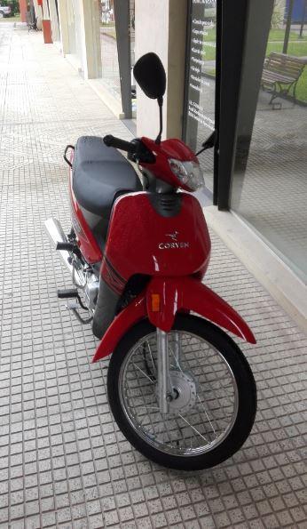 moto corven 110 2017, usada