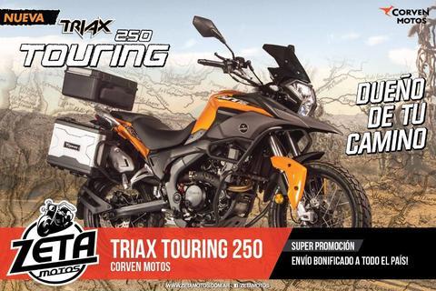 Corven Triax 250 Touring 2017 Envios Al Interior Sin Cargo