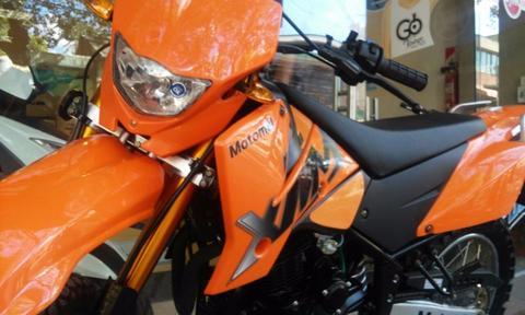 Motomel Cross Xmm 250 2017 Naranja Disponibilidad Inmediata