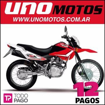 Motomel Skua 150 V6 Nuevo Modelo Enduro