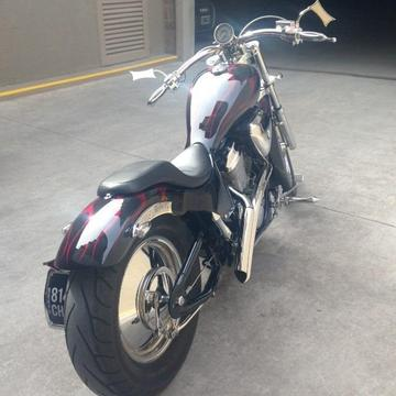 Honda Shadow Vlx 600 Customizada