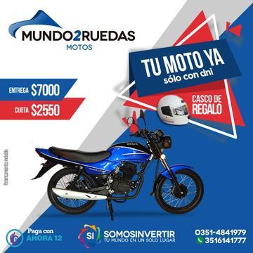 BRAVA ALTINO 150 CC CUOTAS DESDE $2550 !!!
