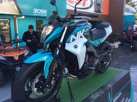 NK 400 ABS SAUMA MOTOS
