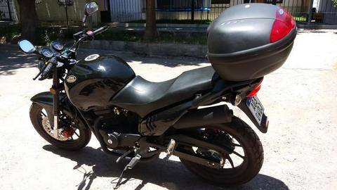 Moto Jawa 350 2016 RUTA 40